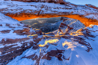 Mesa Arch Winter Sunrise II
