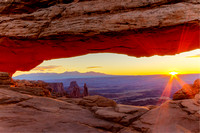 Mesa Arch Fall Sunrise