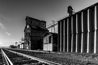 Grain Elevator on the Tracks